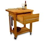 Catskill Craftsmen Baby Grand Workcenter with Drop Leaf