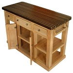Bradley Brand Furniture Cossatot Kitchen Island