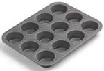Chicago Metallic 12-Cup Muffin Pan - Commercial II