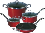 Chantal Copper Fusion 7 Pc Cookware Set