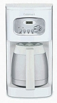 Cuisinart 10-Cup Thermal Programmable Coffee Maker - White
