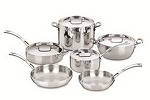 Cuisinart French Classic 10 Piece SS Cookware Set