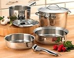 Cuisinart 8 Pc Cookware Set - Stowaway