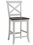 Home Styles Traditions Bar Stool - White/Cherry Finish