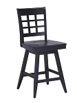 Home Styles Bar Stool Black Finish