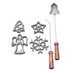 Kitchen Supply Holiday Rosette Set