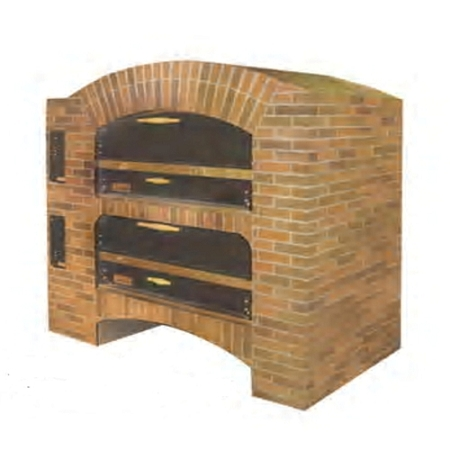 Marsal and Sons MB-866 STACKED Marsal Pizza Deck Oven, Double Deck