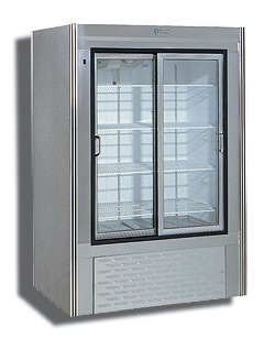 "Custom Cool 48"" Glass Door Dairy-Beverage Merchandiser Refrigerator, 34 Cu.Ft."