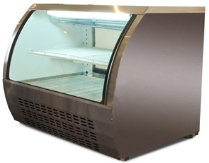 Universal URCD48 48' Refrigerated Deli Case Counter Height