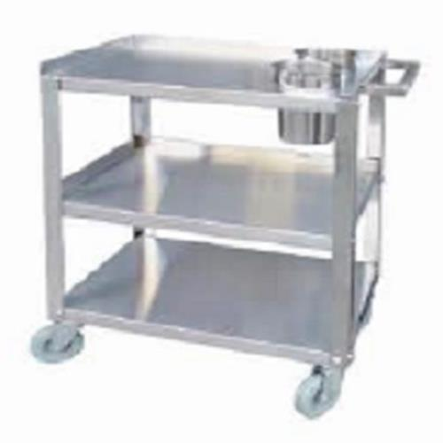 Evoo (EPC1624-2) Stainless Steel Cart with 2 Holes