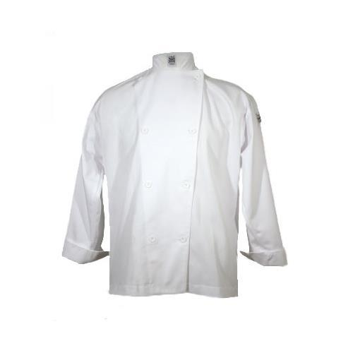 San Jamar J001-4X Knife & Steel Chef's Jacket