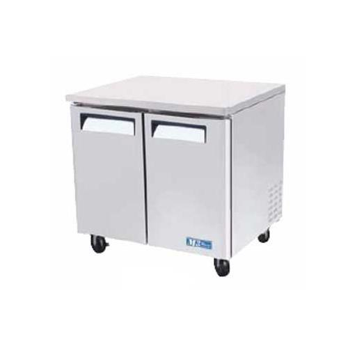 Turbo Air MUR-36 M3 Series Solid Door Undercounter Refrigerator