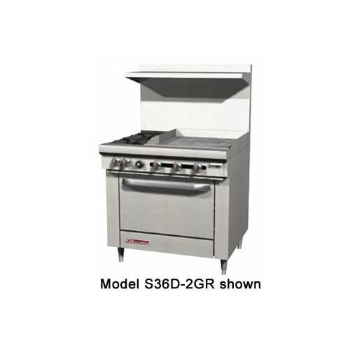 Southbend S36A-2TL S-Series Restaurant Range