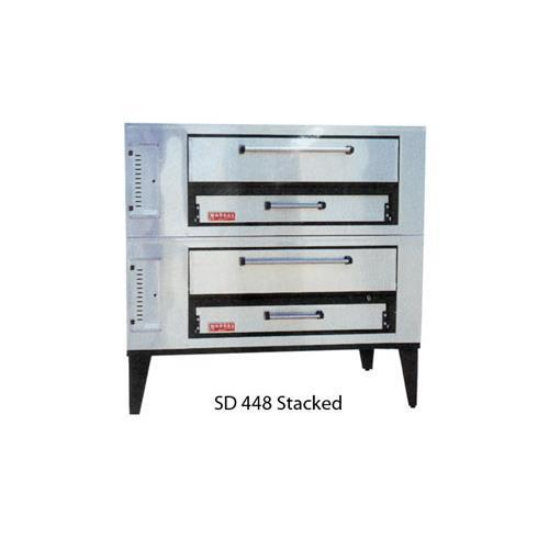 Marsal and Sons SD-448 STACKED Marsal Pizza Deck Oven, Double Deck