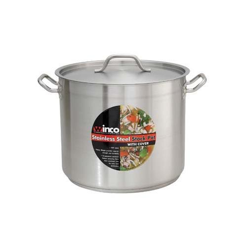 Winco SST-16 Master Cook Stock Pot with Cover, 16 Quart
