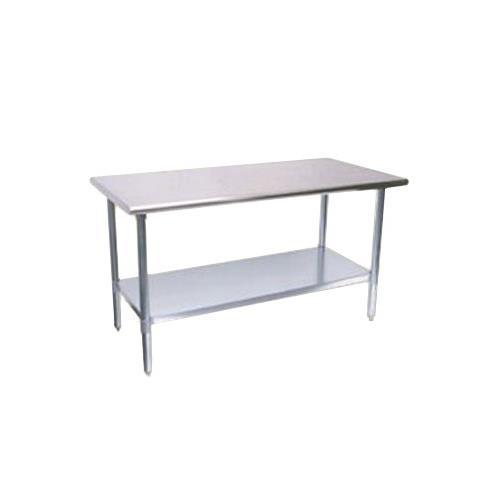 Turbo Air TSW-2460E Work Tables with Galvanized Undershelf