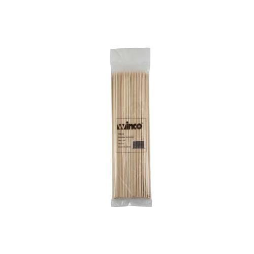 "Winco WSK-10 Bamboo Skewers, 10"", (100/Bag)"