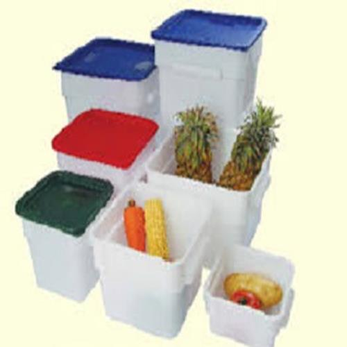 Evoo (EWH-22L ) White Square Food Storage Container - 22 L