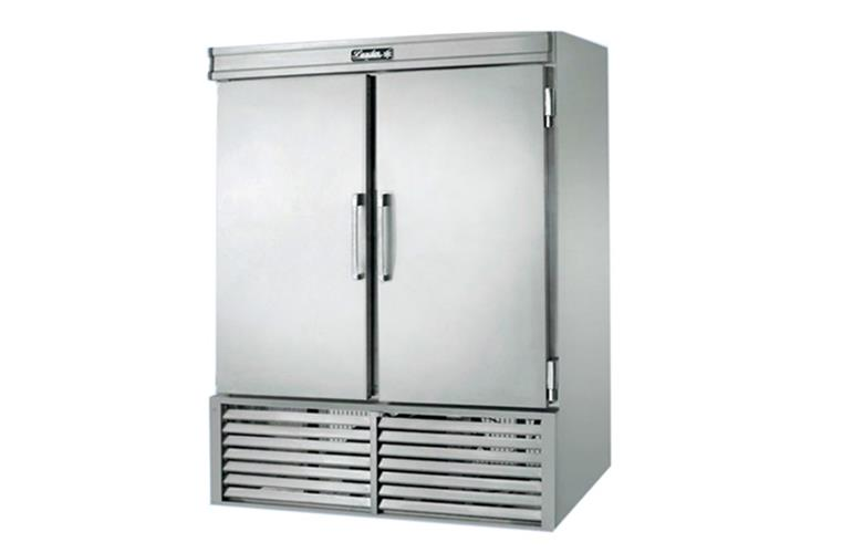"Leader ESFR54 - 54"" Stainless Steel Reach In Freezer - ETL, Solid Swing Door, 38 Cu. Ft."