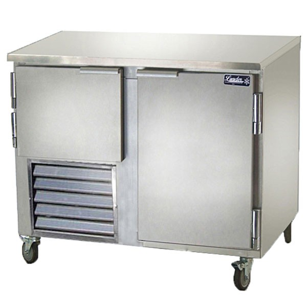 "Leader LB-60- 60"" Low Boy Cooler Undercounter, 19.6 Cu.Ft. Solid Door"