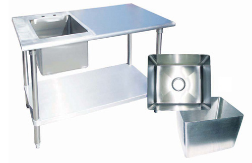 Evoo (EVSB10X14-12D) Heavy Duty Stainless Steel Welded Sink Bowl 14