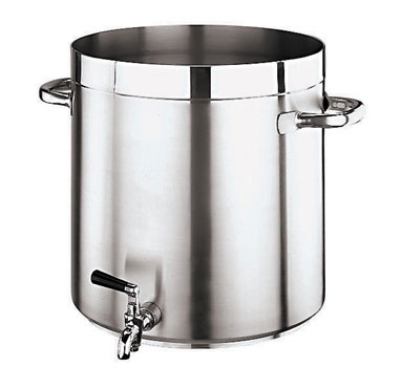 Paderno (11102-28) 17.5 qt Stainless Steel Stock Pot  w/ Tap