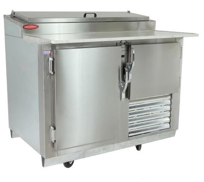 Universal Coolers MPP-4 - Pizza Prep Table - Marble Top - 48