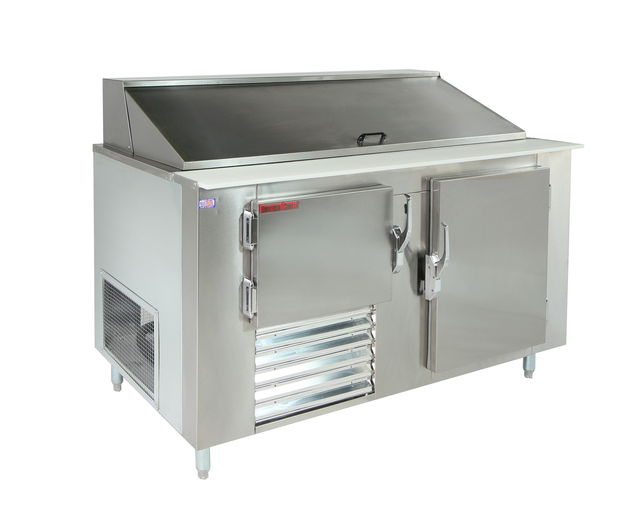 Universal Coolers SC-48-BM - Refrigerated Sandwich Prep Table - 48