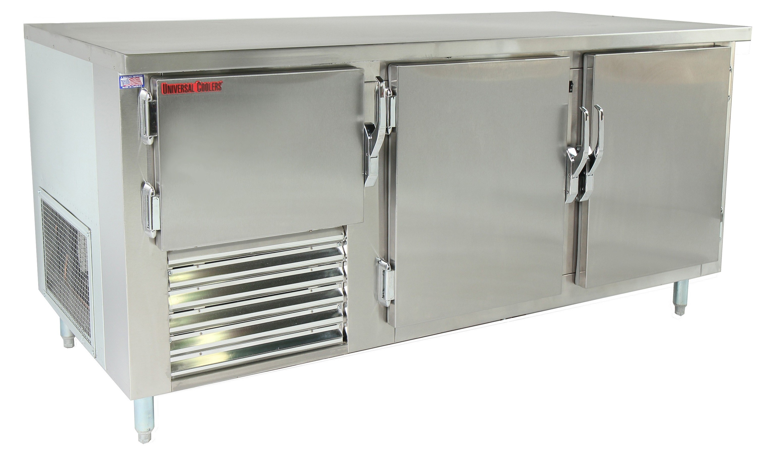Universal Coolers SC-72-LB - Undercounter Refrigerator - 72