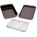 Nordic Ware 3 Piece Baking & Grilling Set