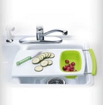Progressive Over The Sink Cutting Board - Green