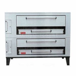 Marsal and Sons SD-1060 STACKED Marsal Pizza Deck Oven, Double Deck
