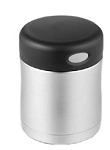 Thermos Nissan Food Jar - Stainless/Black
