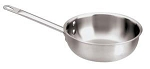 Paderno Splayed Saute Pan Triple-Ply