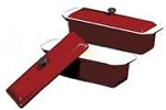 Chasseur Rectangular Pt? Terrine Mold - Red