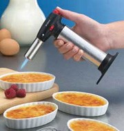 BonJour Brulee Torch Set W/ Oval Dishes