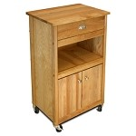 Catskill Craftsmen Open Storage Cuisine Cart