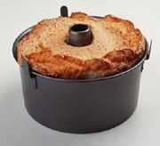 Chicago Metallic Professional 2-Pc. Angel Food Cake Pan W/Feet