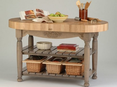 John Boos American Heritage Collection Harvest Table
