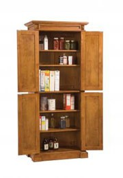 Home Styles Kitchen Pantry Cabinet -Cottage Oak