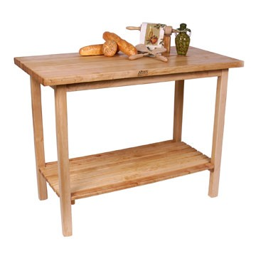 John Boos TownHouse Kitchen Utility Table
