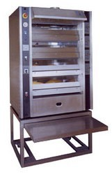 "Belshaw Adamatic XR-4 - 25"" Baby Rembrandt Mini Vapor Steam Tube Deck Oven"