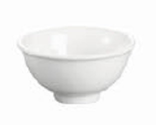"Evoo (ELJ01-1359) 3.75"" Snow White Rice Bowl (Dozen)"