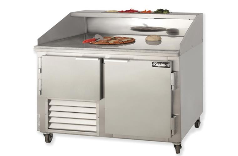 "Leader DR48-M 48"" Refrigerated Dough Retarder Table - Marble Top, 16.2 Cu.Ft."