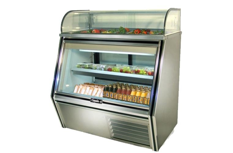"Leader SDL36- 36"" 7/11 Deli Display Case/ Self Contained"