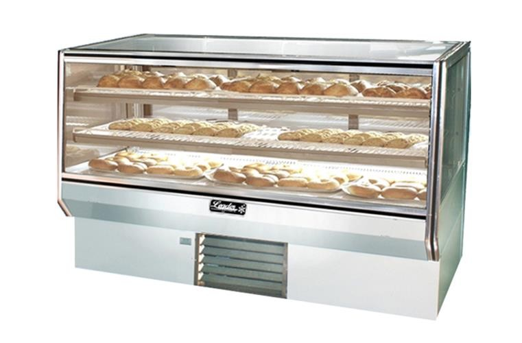 "Leader CBK57-D 57"" Bakery Display Case Dry, Pastry & Donut Display - Counter Height/ Dry, Pastry & Donut Display"