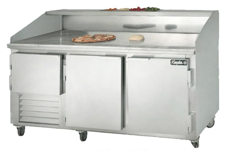 "Leader DR72- 72"" Refrigerated Dough Retarder Table, 26.2 Cu.Ft."