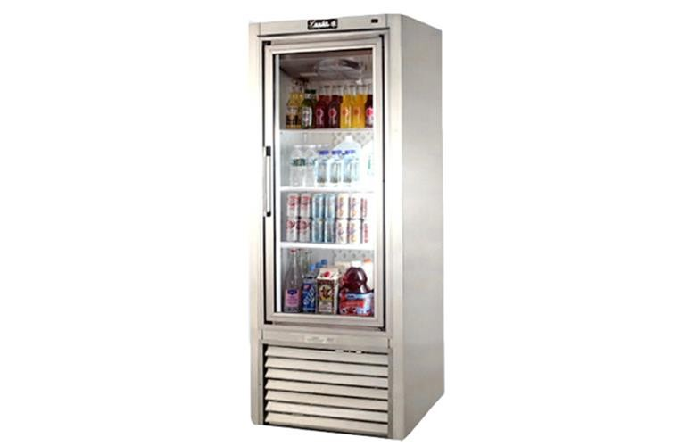 "Leader PS30- 30"" Swinging Glass Door Reach In Refrigerator/ Self Contained, 20 Cu.Ft."