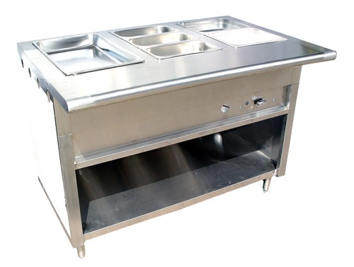 Evoo (ECWS-96) Gas Steam Table - 96""