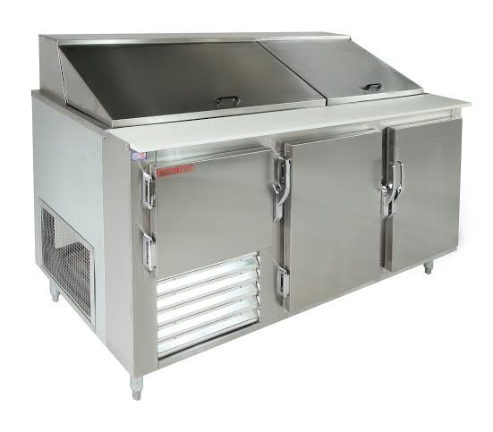 Universal Coolers SC-84-BM - Refrigerated Sandwich Prep Table - 84""